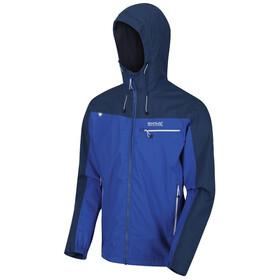 Regatta Highton Stretch Chaqueta Impermeable Hombre, azul